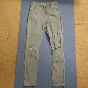 PacSun Super High Rise Skinniest size 25